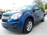 2010 Navy Blue Metallic Chevrolet Equinox LS #92789314
