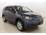 2012 Twilight Blue Metallic Honda CR-V EX-L 4WD #92789693