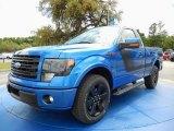 2014 Blue Flame Ford F150 FX2 Tremor Regular Cab #92789308