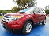 2014 Ruby Red Ford Explorer XLT #92789307