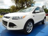 2014 White Platinum Ford Escape Titanium 2.0L EcoBoost #92789305