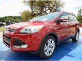 2014 Ruby Red Ford Escape Titanium 2.0L EcoBoost #92789304
