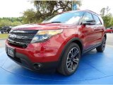 2014 Ruby Red Ford Explorer Sport 4WD #92789302