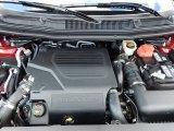 2014 Ford Explorer Engines
