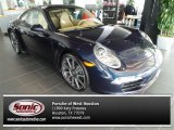 2014 Porsche 911 Dark Blue Metallic