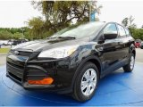 2014 Tuxedo Black Ford Escape S #92789296