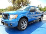 2014 Blue Flame Ford F150 STX SuperCrew #92789294