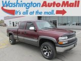 Dark Carmine Red Metallic Chevrolet Silverado 1500 in 2000