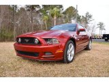 2014 Ruby Red Ford Mustang GT Premium Coupe #92789671