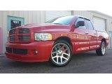 2005 Flame Red Dodge Ram 1500 SRT-10 Quad Cab #92789759