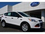 2014 Oxford White Ford Escape S #92789464