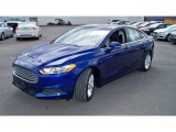 2013 Deep Impact Blue Metallic Ford Fusion SE #92789272