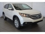 2014 White Diamond Pearl Honda CR-V EX AWD #92789177