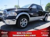 2014 Black Ram 1500 Laramie Crew Cab #92789433