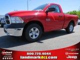 2014 Flame Red Ram 1500 Tradesman Regular Cab #92789429