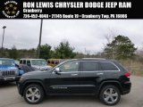 2014 Brilliant Black Crystal Pearl Jeep Grand Cherokee Limited 4x4 #92789334