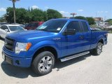 2014 Blue Flame Ford F150 STX SuperCab #92789242
