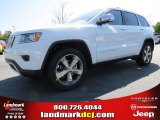 2014 Bright White Jeep Grand Cherokee Limited #92832553
