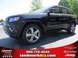 2014 Brilliant Black Crystal Pearl Jeep Grand Cherokee Limited #92832552