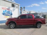 2014 Ruby Red Ford F150 FX4 SuperCrew 4x4 #92832436