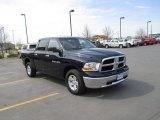 2012 Midnight Blue Pearl Dodge Ram 1500 SLT Crew Cab 4x4 #92832815