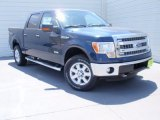 2014 Blue Jeans Ford F150 XLT SuperCrew 4x4 #92832727