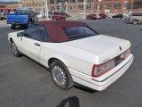 1993 Cadillac Allante Pearlescent White