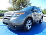 2014 Sterling Gray Ford Explorer Limited #92832502