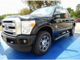 2015 Tuxedo Black Ford F250 Super Duty Platinum Crew Cab 4x4 #92832496