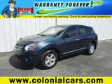 2013 Graphite Blue Nissan Rogue S AWD #92832954