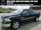 2014 Black Ram 1500 Big Horn Crew Cab 4x4 #92832681