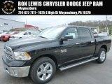 2014 Black Ram 1500 Big Horn Crew Cab 4x4 #92832674