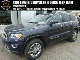 2014 True Blue Pearl Jeep Grand Cherokee Limited 4x4 #92832669