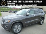 2014 Granite Crystal Metallic Jeep Grand Cherokee Overland 4x4 #92832665