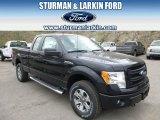 2014 Tuxedo Black Ford F150 STX SuperCab 4x4 #92876233