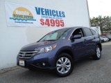 2012 Twilight Blue Metallic Honda CR-V EX 4WD #92876623