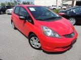 2011 Milano Red Honda Fit  #92876384