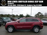 2014 Deep Cherry Red Crystal Pearl Jeep Grand Cherokee Laredo 4x4 #92876217