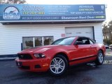 2012 Race Red Ford Mustang V6 Convertible #92876604