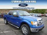 2014 Blue Flame Ford F150 XLT SuperCrew 4x4 #92876241