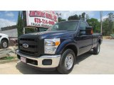 2012 Dark Blue Pearl Metallic Ford F250 Super Duty XL Regular Cab #92876476