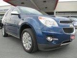 2010 Navy Blue Metallic Chevrolet Equinox LTZ #92876417