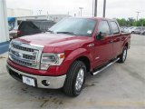 2014 Ruby Red Ford F150 XLT SuperCrew #92916956