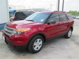 2014 Ruby Red Ford Explorer FWD #92916954