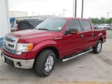 2014 Ruby Red Ford F150 XLT SuperCrew #92916949