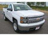 2014 Summit White Chevrolet Silverado 1500 LT Regular Cab #92917074