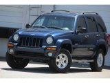 2002 Patriot Blue Pearlcoat Jeep Liberty Limited 4x4 #92917190