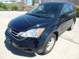 2011 Crystal Black Pearl Honda CR-V EX-L 4WD #92917059