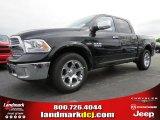 2014 Black Ram 1500 Laramie Crew Cab #92939728