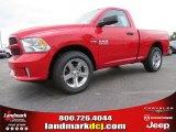 2014 Flame Red Ram 1500 Express Regular Cab #92939725